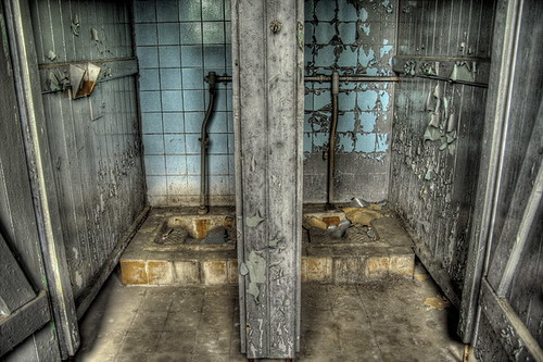 abandoned barracks in leipzig