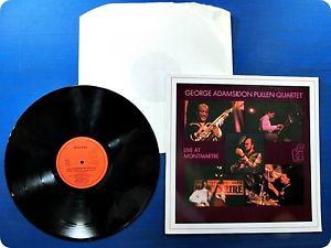 GEORGE ADAMS / DON PULLEN QUARTET LIVE AT MONMARTRE JAZZCLUB SJP219 LP Ca6039