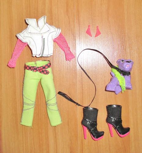 2012 Neon Runway Jade Outfit & Accessories