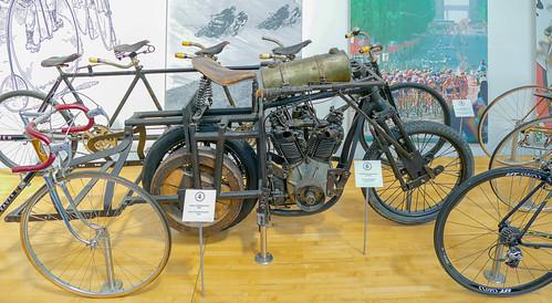 BAC Schrittmachermotorrad / Pacer's motorcycle, ca. 1910