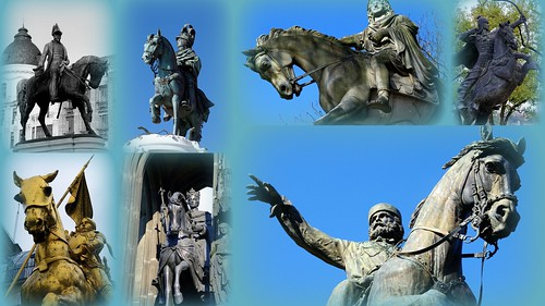 Statues équestres