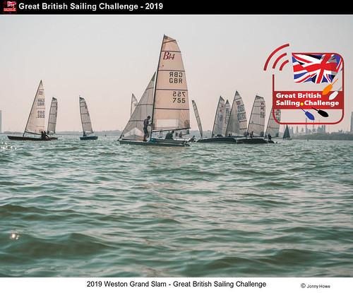 2019 Weston Grand Slam - Great British Sailing Challenge