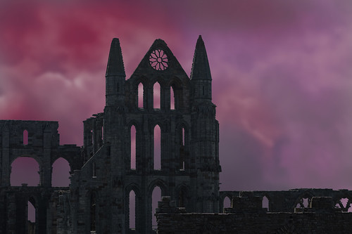 Whitby-Abbey-ominus sky