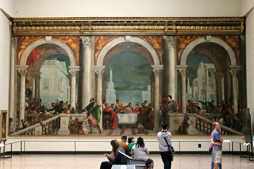 Paolo Veronese. Feast in the House of Levi. 1573.