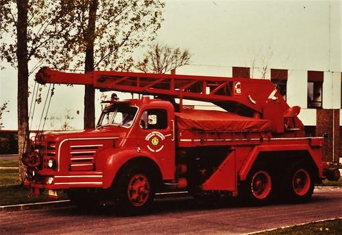 Berliet GTRK (TBO 15M) SDIS Versailles (78 Yvelines) 1989a