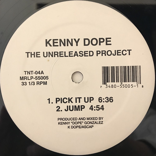 KENNY DOPE:THE UNRELEASED PROJECT(LABEL SIDE-A)