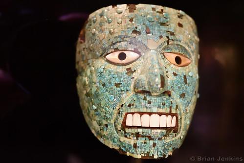 Turquoise Mosaic Mask (AD 1400-1521)