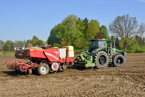 Germany - Lower Saxony - Potato Planting - 7