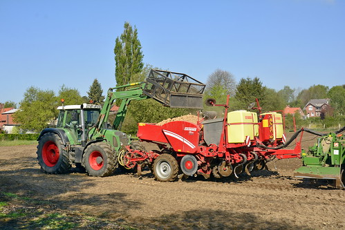 Germany - Lower Saxony - Potato Planting - 6