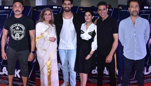 Twinkle Khanna And Akshay Kumar Host Special Screening Of Karan Kapadia's Blank's Film