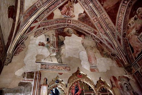 IMG_0188K Lorenzo Monaco (Piero di Giovanni. 1370-1425. Florence. Fresques  1424  Florence Santa Trinita.