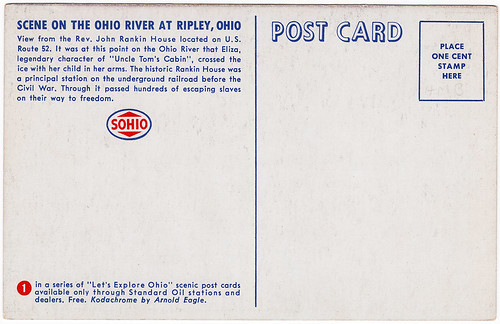 Back of Scene on the Ohio River at Ripley, Ohio (Date Unknown)