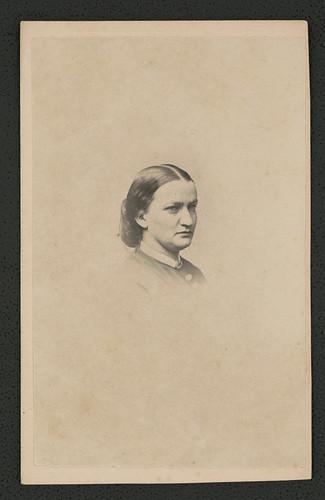 [Nancy Maria Hill, Civil War nurse at Armory Square Hospital, Washington, D.C.] (LOC)