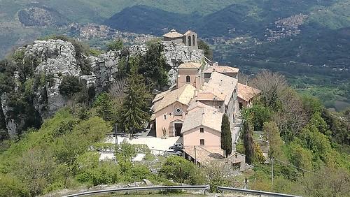 11/05/2019 - Santuario della Mentorella (IV sec.), 1018 m, Monti Prenestini