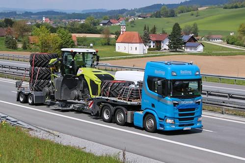 Scania R 500 / Reiling