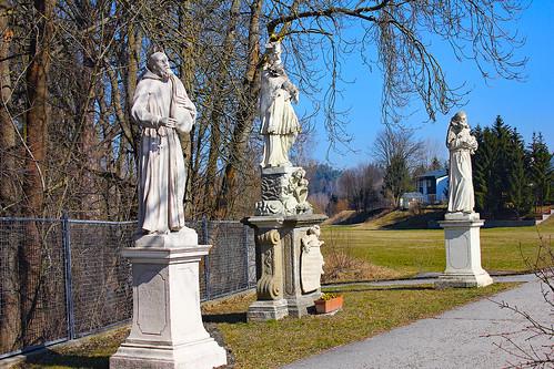 Schwarzenau. Heiligengruppe, 1729 - Rokoko