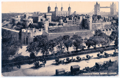 London - Tower and Tower Bridge Prior to 1919