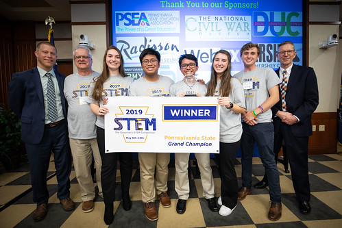 Governor Wolf's STEM Competition Honors Student Teams