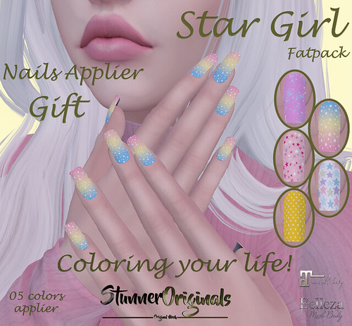 .:: StunnerOriginals ::.Gift Nails Applier Star Girl