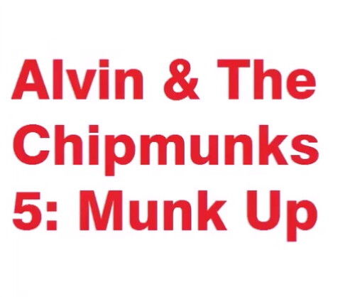 Alvin & The Chipmunks 5 Munk Up will become a 5th film releasing on December 1, 2025