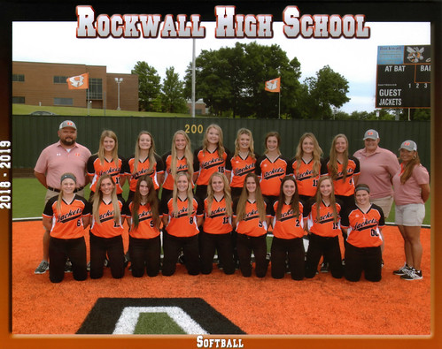 Rockwall Varsity Softball 2019