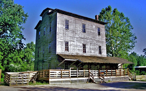 1880 Roller Mill (Mansfield IN)