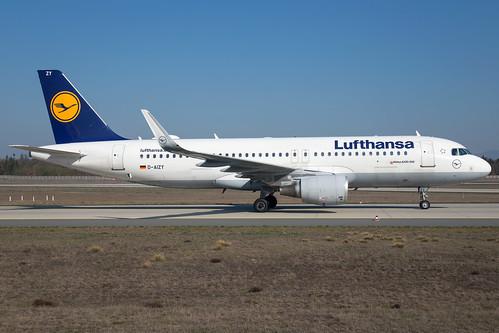 Lufthansa A320-214(WL) D-AIZY