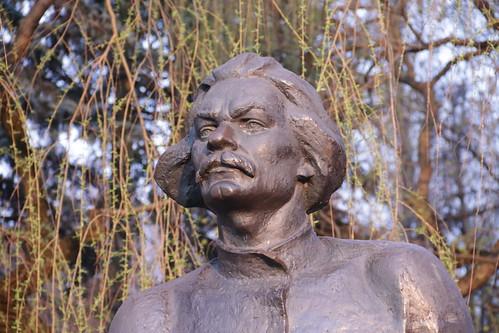 Скульптор Иван Миско. Писатель Максим Горький. The sculptor Ivan Misko. Writer Maxim Gorky (14)