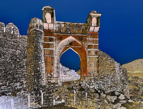 India - Madhya Pradesh - Mandu - Songarh Fort - 5g