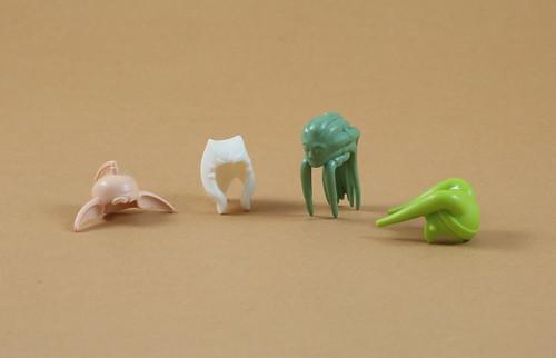 Unprinted LEGO Heads