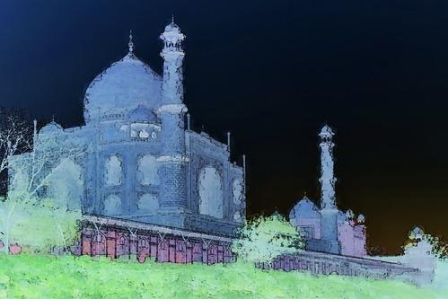 India - Uttar Pradesh - Agra - Taj Mahal - 112bb