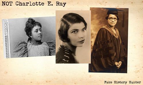 NOT Charlotte E. Ray