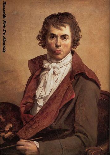 1794 Jacques louis David Self Portrait, Foto by Wikypedia