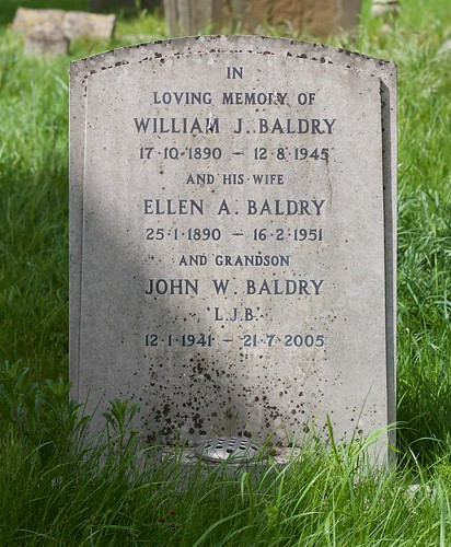 The grave of Long John Baldry