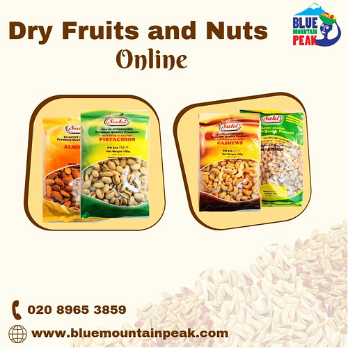 Buy Dry Fruits and Nuts Online at Best Price | Blue Mountain Peak