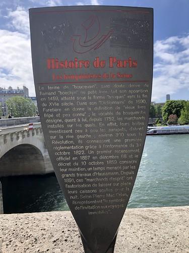 Histoire de Paris : Les bouquiniste de la seine - Paris 1er