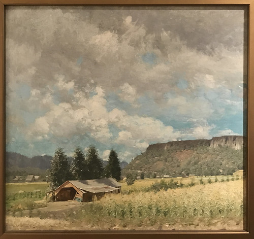 Sketch of Table Rock Near Medford, 1911