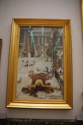 Saint Eulalia by J W Waterhouse