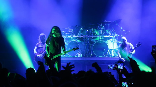 Slayer - Kerry King, Tom Araya, Paul Bostaph & Gary Holt