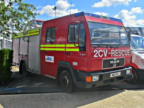 573 MAN L2000 10-224 ex Fire Tender (1995)
