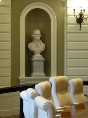 Bust of George Washington in Senate Chamber