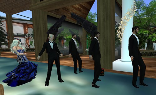 Ohana, Jimmy, Xander, Uriah and Erick at Dueling Pistols Prom In The Clouds Event