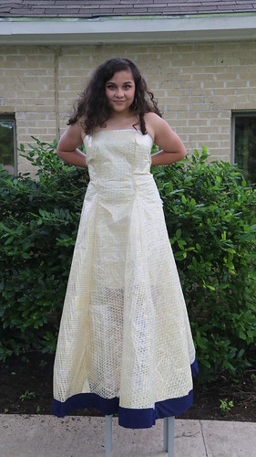 Ball Gown made from Sail!