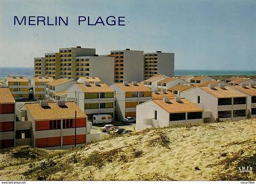85 St-HILAIRE DE RIEZ MERLIN PLAGE ,   Le balnéaire en cartes postales autour de la collection de David Liaudet, de jolie textes..