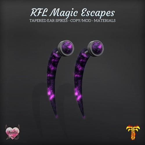 SynCo - RFL Magic Escapes Ear Hooks