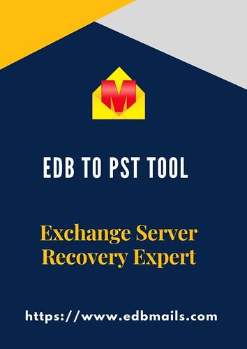 EDB to PST conversion solution