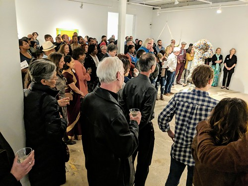 MVIMG_20190420_193120~2 2019-04-20 Gathered IV Opening The Museum of Contemporary Art of Georgia MOCA GA