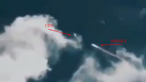 UFO Shot With Missile Our Countermeasures Work (1)