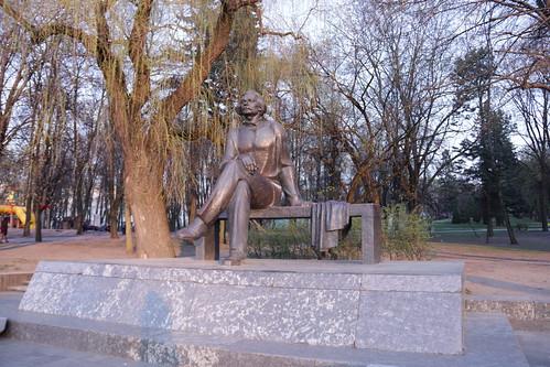 Скульптор Иван Миско. Писатель Максим Горький. The sculptor Ivan Misko. Writer Maxim Gorky (15)