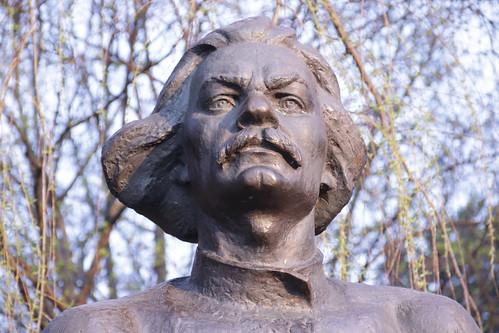 Скульптор Иван Миско. Писатель Максим Горький. The sculptor Ivan Misko. Writer Maxim Gorky (4)